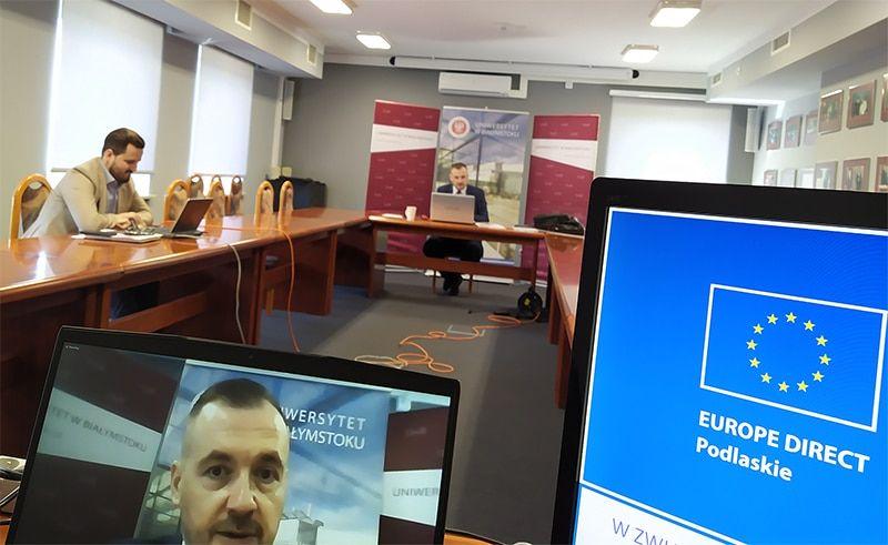 konferencja UE aCOVID